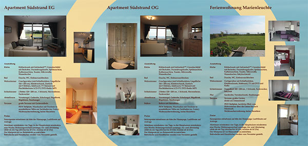 Flyer Südstrand-Apartment