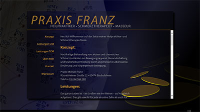 Screenshot praxis-michaelfranz.de